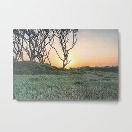 Barrier Island Sunrise II Metal Print