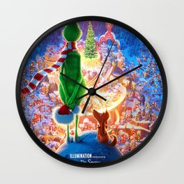 Dr. Seuss' The Grinch Wall Clock