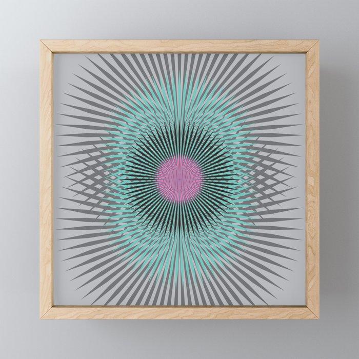 Moon Burst Framed Mini Art Print
