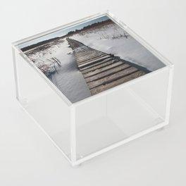Winter at the Boardwalk Acrylic Box