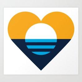 Heart of Milwaukee Art Print