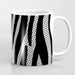 Timeless Zebra Pattern Abstract Coffee Mug