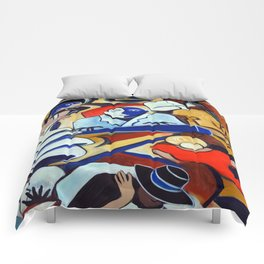 The Blue Piano Comforters