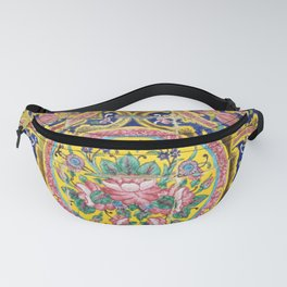 Floral Persian Tile Fanny Pack