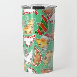 """Oro?"" Christmas MINT Travel Mug"