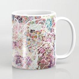 Grenoble map Coffee Mug