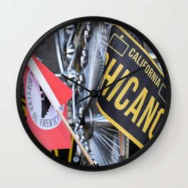 California Chicano Wall Clock