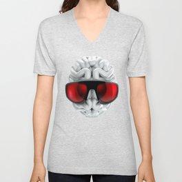 Keep a Cool Mind Unisex V-Neck