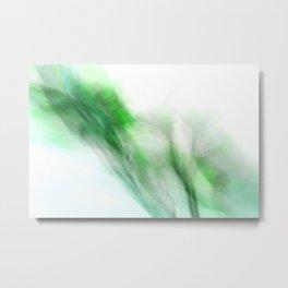 Floral Abstract I - JUSTART © Metal Print