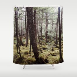 Tree gathering   Nature Photography Shower Curtain