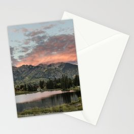 Spectacular Rocky Mountain valley outside Telluride Colorado - Stationery Cards