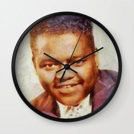 Fats Domino, Music Legend Wall Clock
