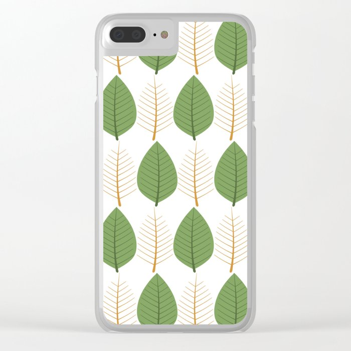 Seamless floral pattern Clear iPhone Case