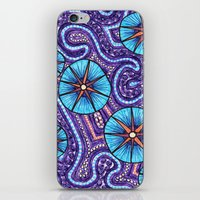 celestial iPhone & iPod Skins featuring Celestial by ErinNNelson