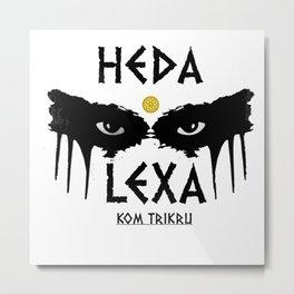 HEDA Metal Print