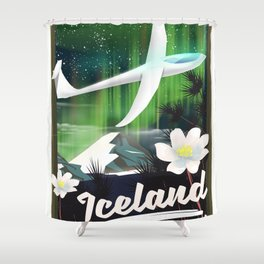 Iceland - go Gliding! Shower Curtain