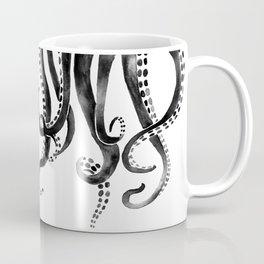 Black Octopus Coffee Mug