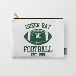 Green Bay Football Fan Gift Present Idea Carry-All Pouch
