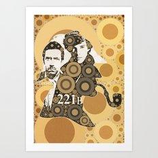 Residents of 221B Art Print