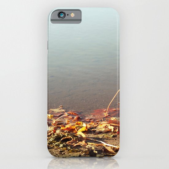 Autumn by the water iPhone & iPod Case