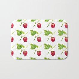 Raspberry, Fruit, Forest, Nature, Leaf, Berry, Sun, Summer, Happy Bath Mat