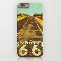 Route 66 Road Marker Slim Case iPhone 6s