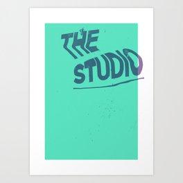 The studio #4 Art Print