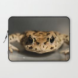 Kiss That Frog Laptop Sleeve