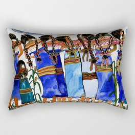 Sometimes we get tired of traditional life Rectangular Pillow