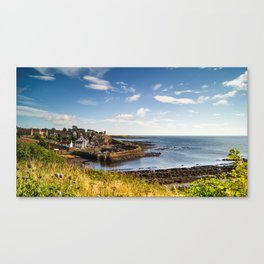 Crail Harbour Scotland Canvas Print