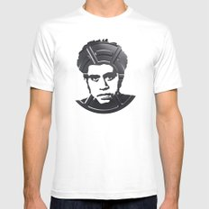 Pedro_Almodovar Mens Fitted Tee White MEDIUM