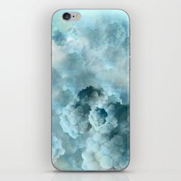 """Cotton clouds blue Heaven"" iPhone Skin"