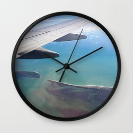 Flying Home Wall Clock
