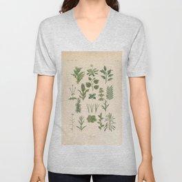 Botany Chart Unisex V-Neck