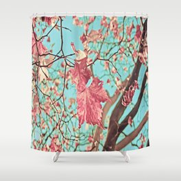Flying Leaves Shower Curtain