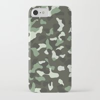 camo iPhone & iPod Cases featuring CAMO by Brukk