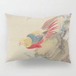 Japanese PHEASANT Pillow Sham