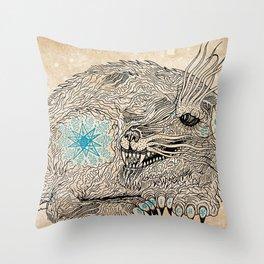 Thing. Throw Pillow
