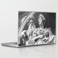 vienna Laptop & iPad Skins featuring Vienna statue by Veronika