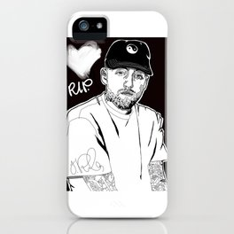 R.I.P. Malcom iPhone Case