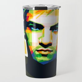 Josh Dun Portrait Travel Mug