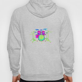 Colorful Drum Kit Hoody