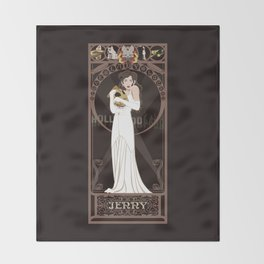 Jenny Nouveau - The Rocketeer Throw Blanket