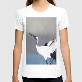 Ohara Koson - Top Quality Art - Grus Japonensis T-shirt