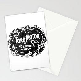 Old car company logo Stationery Cards