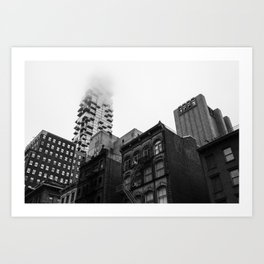 Lost in the Mists -5 New York 2018 Art Print