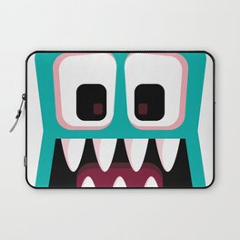 Bubble Beasts: Fang Flosser Laptop Sleeve