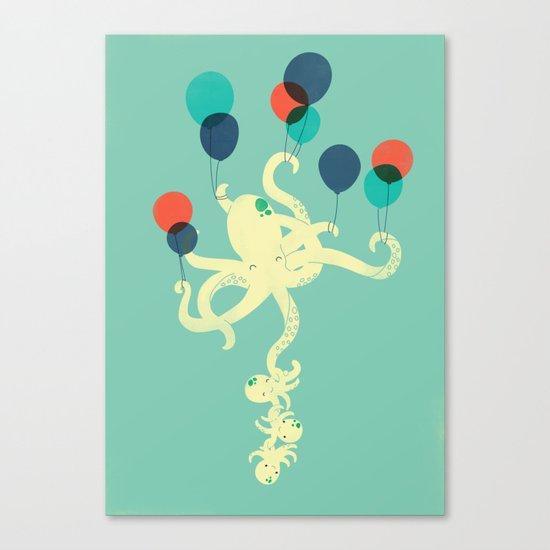 Up We Go Canvas Print