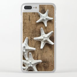 starfish 6 Clear iPhone Case