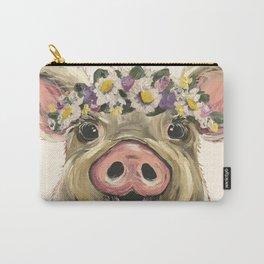 Farm Animal Art, Pig Art Carry-All Pouch